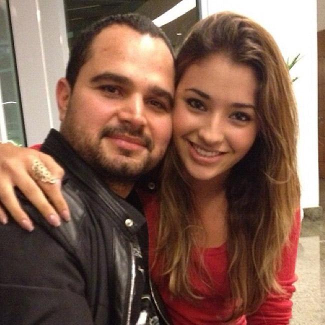Carolina Oliveira tieta Luciano Camargo (Foto: Reprodução/Instagram)