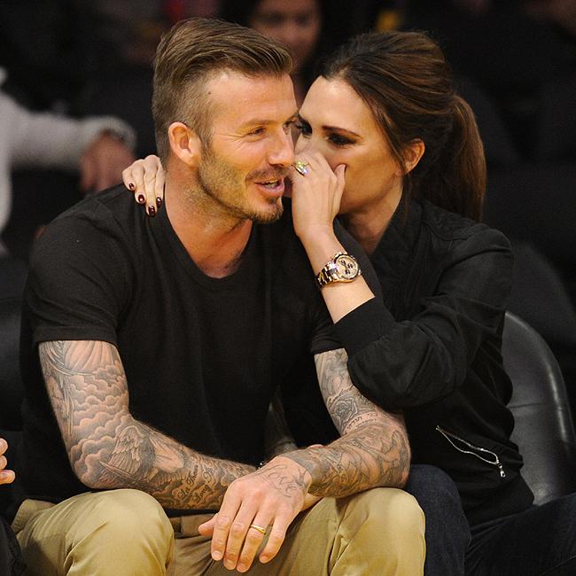 Victoria e David Beckham (Foto: BrainPix)