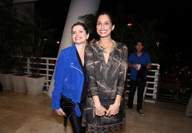 Débora Bloch e Camila Pitanga (Foto: Alex Palarea/AgNews)