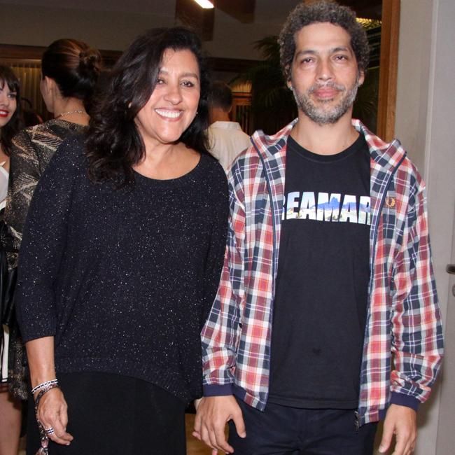 Regina Casé e Estevão Ciavatta (Foto: Alex Palarea/AgNews)