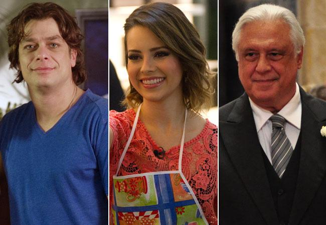 Sandy, Antônio Fagundes e Fábio Assunção estão no elenco de filme (Foto: Divulgação/TV Globo)