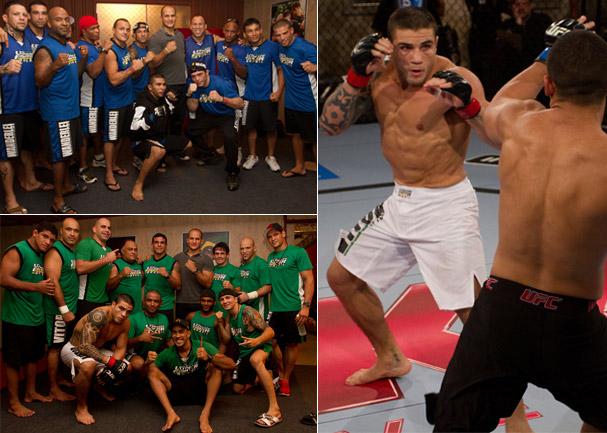 MMA reality show (Foto: Divulgação)