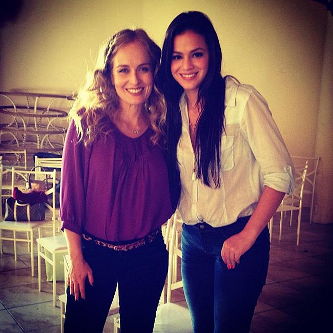 Bruna Marquezine e Angélica (Foto: Reprodução)