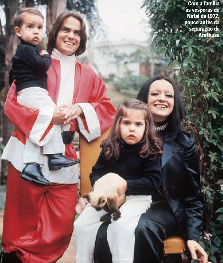 Ronnie Von e família (Foto: Cris Bierrenbach / Quem)
