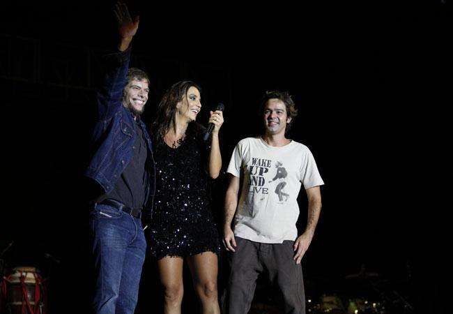Luiz Henrique Nogueira, Ivete Sangalo e Bruno Mazzeo (Foto: Divulgação/TV Globo)