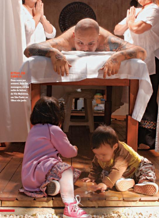 João Gordo e filhos (Foto: Cleiby Trevisan / Quem)