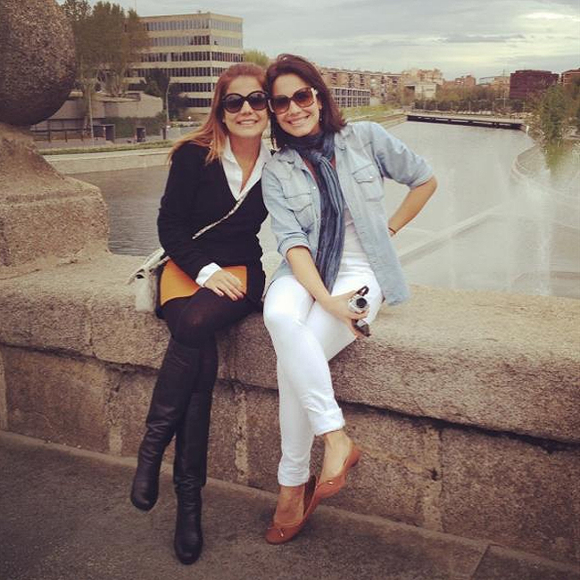 Nívea Stelmann e Juliana Knust (Foto: Reprodução)