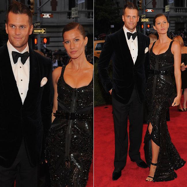 Gisele Bündchen e o marido, Tom Brady (Foto: Getty Images)