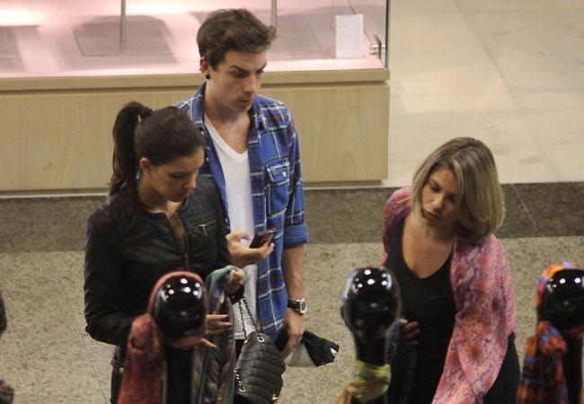 Di Ferrero e Mariana Rios (Foto: Marcus Pavão/AgNews)