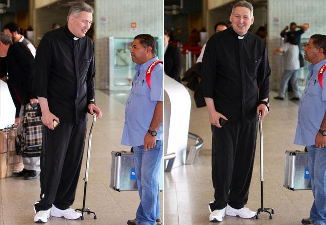 Padre Marcelo (Foto: LEOTTY JR. / AG. NEWS)