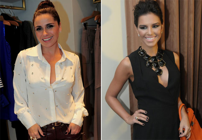 Giovanna Antonelli e Mariana Rios (Foto: Francisco Cepeda/AgNews)