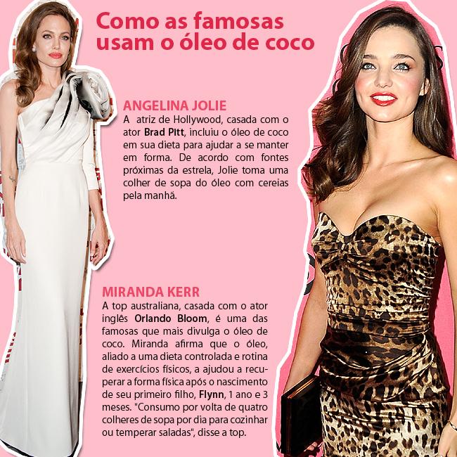 Angelina Jolie e Miranda Kerr (Foto: Getty Images)
