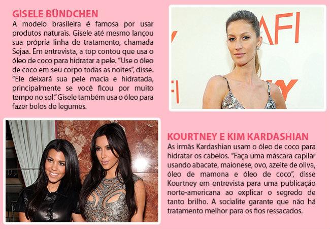 Gisele Bündchen e Kim Kardashian (Foto: Getty Images)