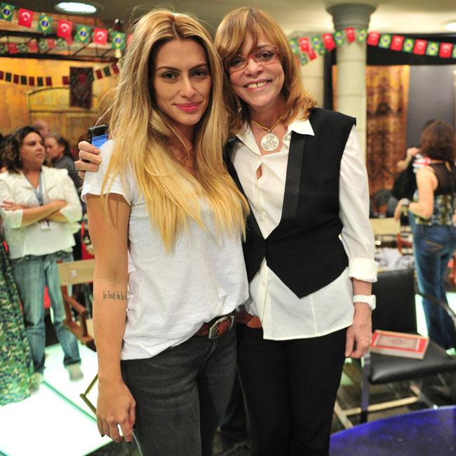 Cleo Pires e Glória Perez (Foto: João Miguel Jr./AgNews)