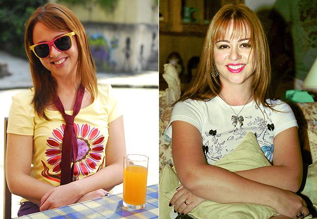A atriz como Bebel em 2010 (Foto: Blenda Gomes/TV Globo)
