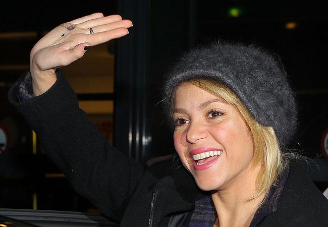 Shakira (Foto: Splash News)