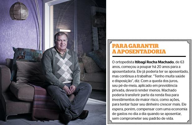 Para garantir a aposentadoria (Foto: Camila Fontana/ÉPOCA)