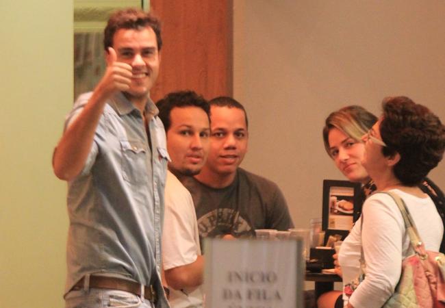 Giovanna Ewbank e Joaquim Lopes (Foto: Rodrigo dos Anjos/AgNews)