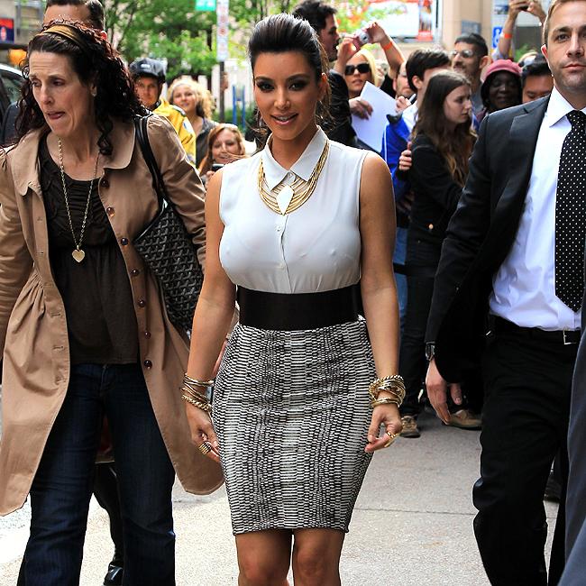 Kim Kardashian (Foto: Splash News)