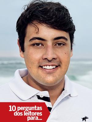Bruno De Luca (Foto: Arnaldo Borenstajn/Ed. Globo)