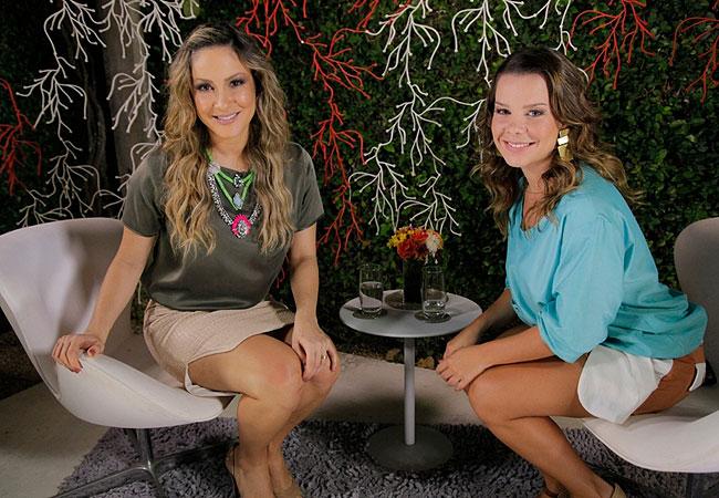 Claudia Leitte e Fernanda Souza (Foto: Divulgação)