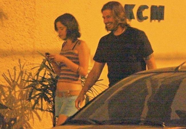 Dado com Juliana Wolter, sua namorada há cinco meses, que está grávida de seu terceiro filho (Foto: Marcelo Corrêa/Ed. Globo)