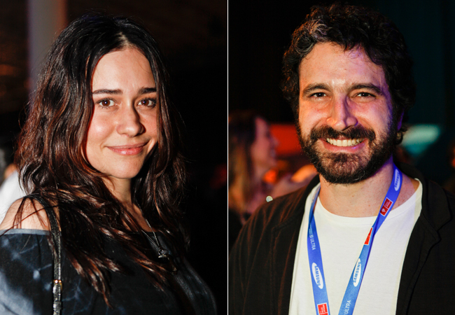 Alessandra Negrini e Caco Ciocler (Foto: Divulgação/Doritos)