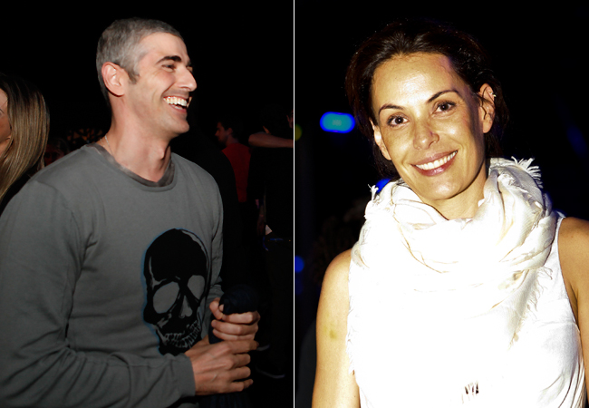 Reynaldo Gianecchini e Carolina Ferraz (Foto: Divulgação/Doritos)