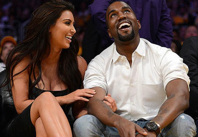 Kim Kardashian e Kanye West (Foto: Getty Images )