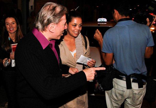 Silvio Santos (Foto: Milene Cardoso e Danilo Carvalho/ Agnews)