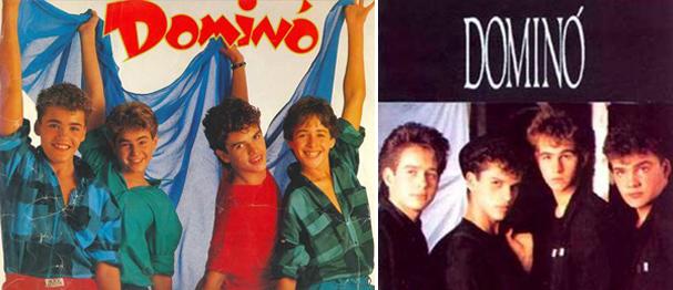 Os álbuns da boy band brasileira em sua composição inicial  (Foto: Reprodução)