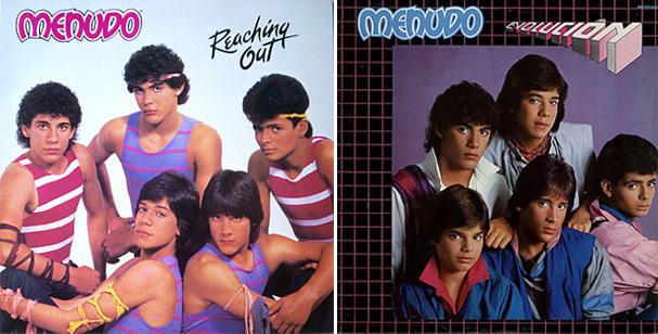 Os dois álbuns de maior sucesso do grupo: versão sem e com Ricky Martin (Foto: Reprodução)