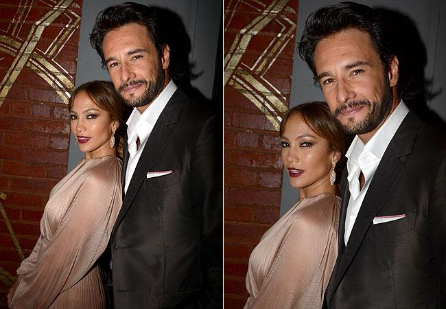 Jennifer Lopez e Rodrigo Santoro (Foto: Getty Images)