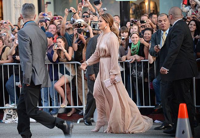 Jennifer Lopez e o namorado (Foto: Getty Images)