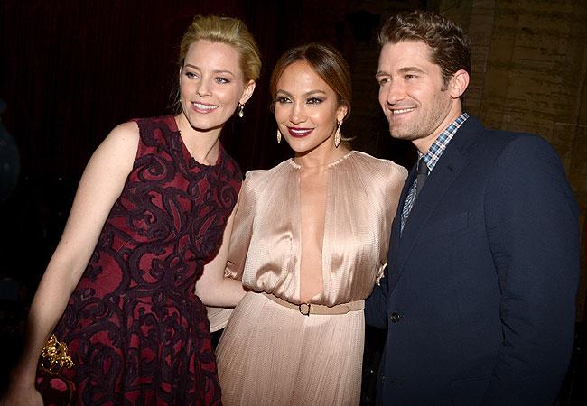 Elizabeth Banks, Jennifer Lopez e Matthew Morrison (Foto: Getty Images)