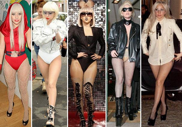 Gaga sem calças desde o começo da carreira (Foto: Reprodução)