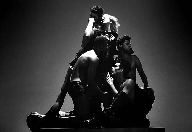 Madonna no clipe