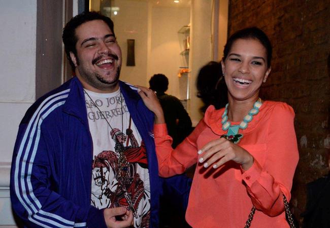 Tiago Abravanel e Mariana Rios em clima de descontração (Foto: Fabio Cordeiro/Revista QUEM)