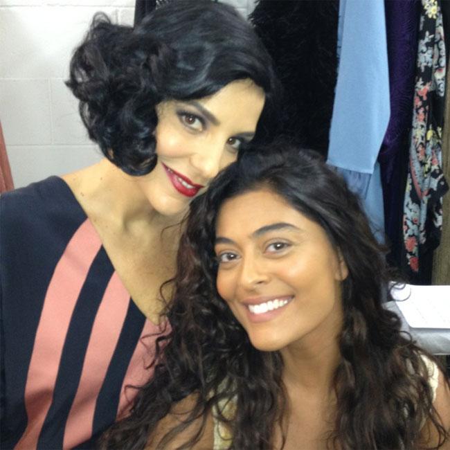 Ivete Sangalo e Juliana Paes (Foto: Reprodução)