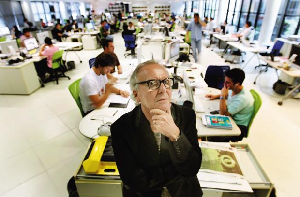 WASHINGTON OLIVETTO Publicitário. Chefe criativo do grupo McCann. Ganhou mais de 50 Leões de Ouro, Prata e Bronze em Cannes por seus filmes publicitários (Foto: Robson Fernandjes//AE)