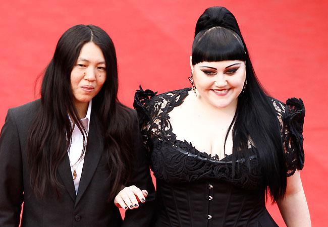Beth Ditto e Kristin Ogata (Foto: Getty Images)