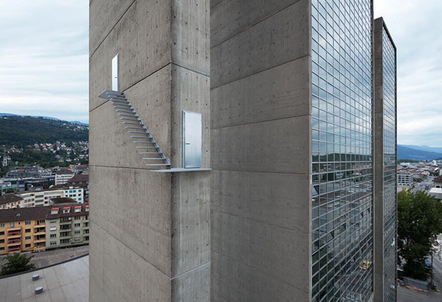 escada_predio_suica (Foto: divulgação)