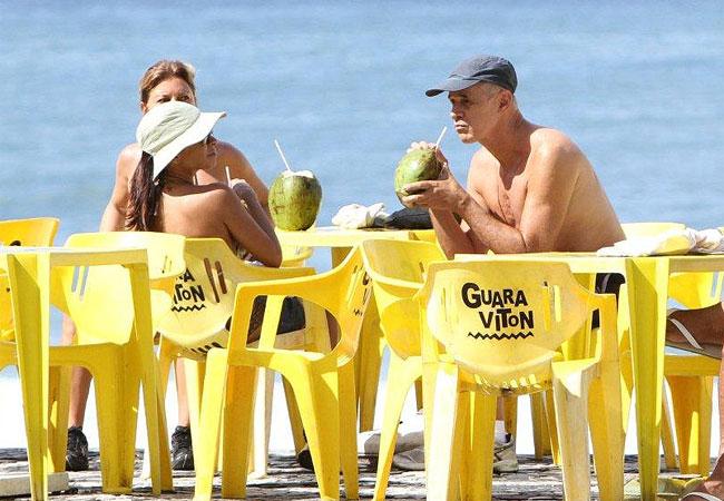 Marcos Caruso e Aninha Lima (Foto: ANDRÉ FREITAS / AG. NEWS)