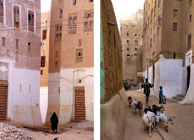 shibam_predio_argila_deserto (Foto: flickr / http://www.flickr.com/photos/kurvenalbn/2271777488/)