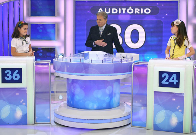 Silvio Santos comanda o