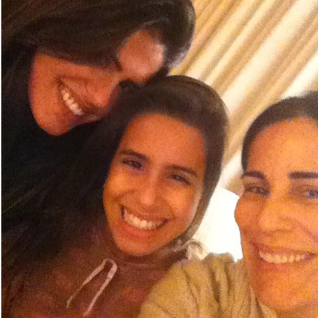 Antônia, Ana e Glória Pires (Foto: Reprodução)