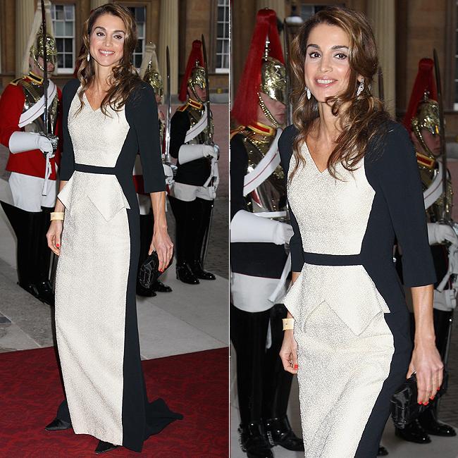 A rainha Rania da Jordânia, eleita pela imprensa internacional como uma das mulheres mais bonitas do mundo (Foto: Getty Images)