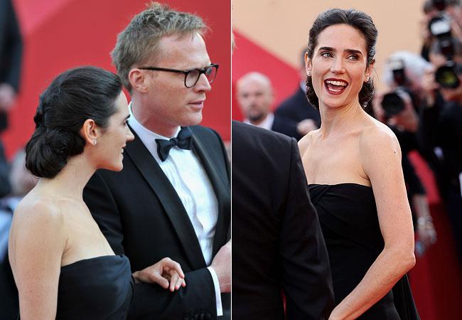 A atriz esteve acompanhada do marido, Paul Bettany (Foto: Getty Images)