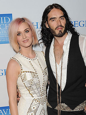 Russell Brand e Katy Perry (Foto: Getty Images)