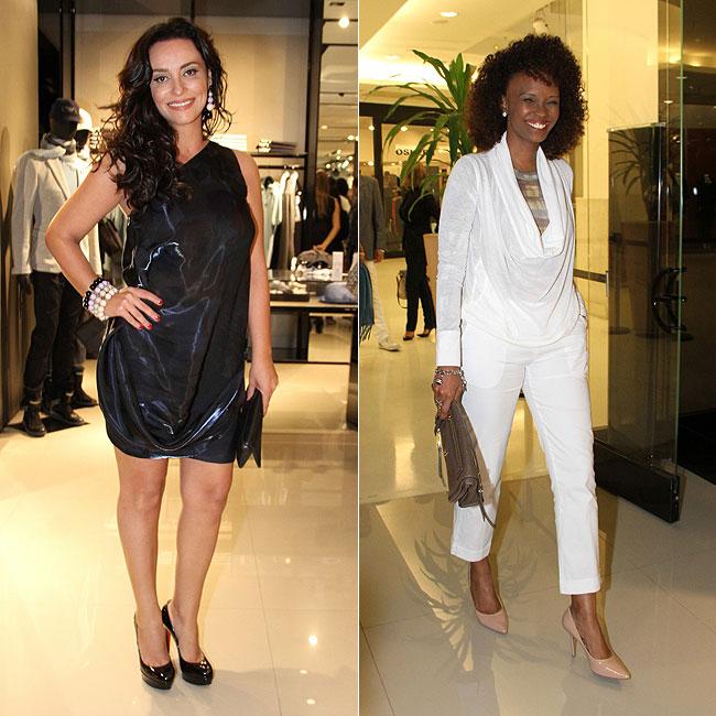 Suzana Pires (à esquerda) e Isabel Fillardis (à direita ) (Foto: Roberto Filho/AgNews)